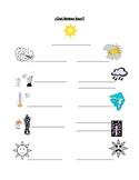 El tiempo / weather