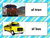 El transporte / La transportación - Guided Writing Center Themed Mini Unit