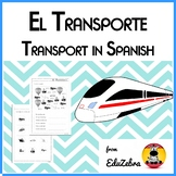 Transport in Spanish - El transporte - Activity Pack