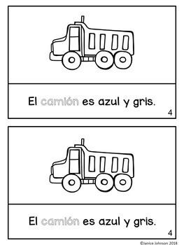 El transporte ~ Transportation Readers & Paperless BOOM Versions {Bilingual}