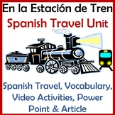El tren y el transporte - Spanish Train & Travel Unit