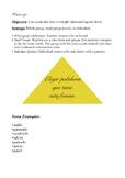 Spanish warm-up~ El triángulo