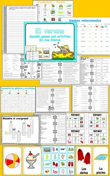 El verano _Spanish games and activities