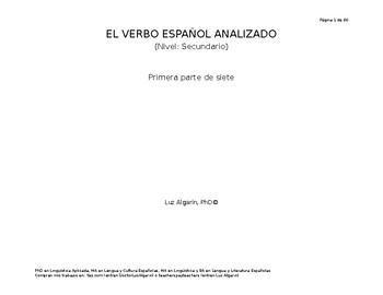 El verbo español analizado  1 de 7