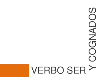 "El verbo ""ser"" y cognados / The Verb ""to be"" and Cognates PowerPoint"
