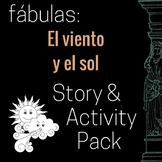 El viento y el sol (The Wind and the Sun in Spanish)