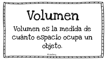 El volumen! Mate