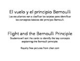 El vuelo y el principio Bernoulli/Flight and the Bernoulli