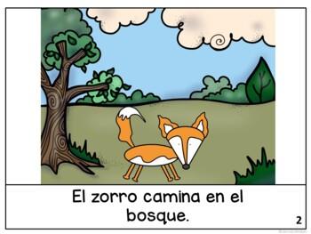 El zorro y el cuervo ~ Spanish Fox &the Crow Fable Reader ~Simplified