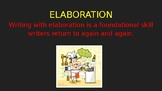 Elaborating Personal Narratives (PowerPoint)