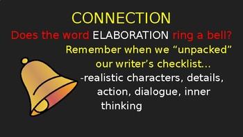 Elaborating Personal Narratives (PowerPoint)