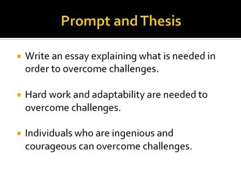 Elaboration Examples in Expository Essays--Overcoming Challenges