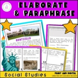 Expository Writing: Elaboration Made Easy (Informational T