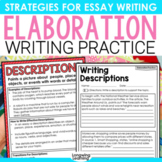ELABORATION POSTERS FOR WRITING