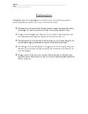 Elaboration Practice