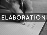 Elaboration Practice Advanced