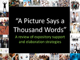 Elaboration Strategies: A Picture Says a Thousand Words