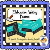 Elaboration Writing posters