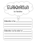 Elaboration for Narrative writing