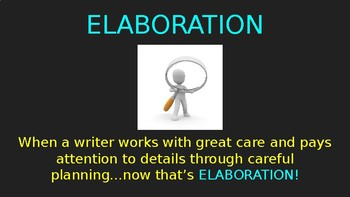 Elaboration of Informational Writing (PowerPoint)