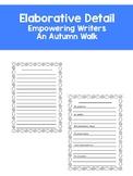 Elaborative Detail- Empowering Writers