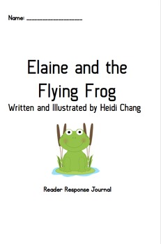 Elaine and the Flying Frog_Book Club