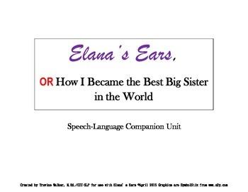 Elana's Ears  Speech-Language Unit