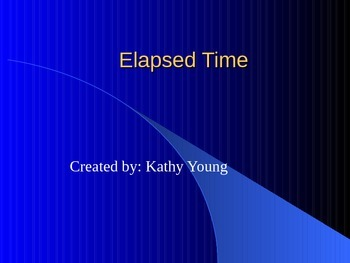 Elapsed Time