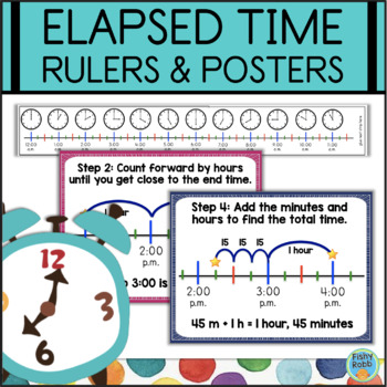 Elapsed Time Rulers & Step-By-Step Posters