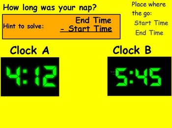 Basic Math Skills - Time - Elapsed Time (worksheet include