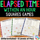 Elapsed Time Games for Practice Within An Hour {3.MD.1}