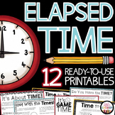 Elapsed Time Word Problems - Elapsed Time 3rd Grade - Elapsed Time Worksheets
