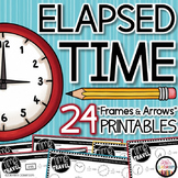 Elapsed Time Worksheets - Elapsed Time Practice - Elapsed Time 3rd Grade