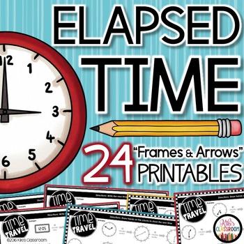Elapsed Time 3rd Grade - Print & Go Pack