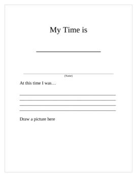 Elapsed Time 3rd grade