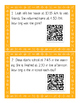 Elapsed Time - A QR Code Activity - Missing Duration 3.7C/4.8C