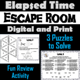 Elapsed Time Activity: Escape Room Math Game