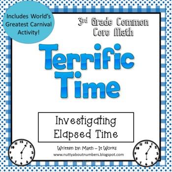 3rd Grade Elapsed Time 3.MD.1