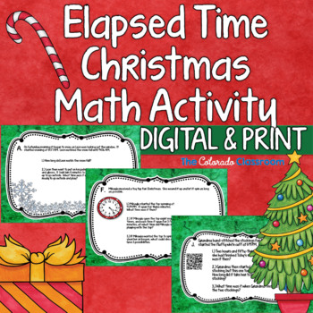 Elapsed Time Activity for Christmas with QR Codes