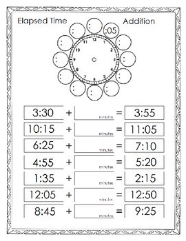 Elapsed Time Addition