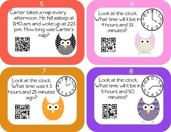 Elapsed Time - Advanced QR Code Self Checking Activity