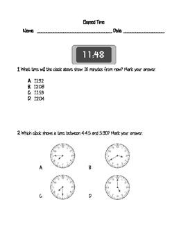 Elapsed Time Assessment - 4.8C
