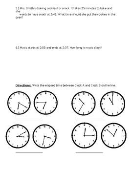 Elapsed Time Assessment