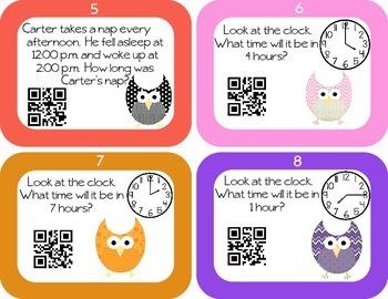 Elapsed Time-Basic QR Code Self Checking Activity