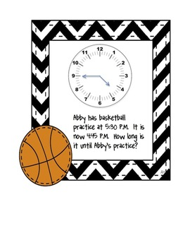 Elapsed Time Basketball theme