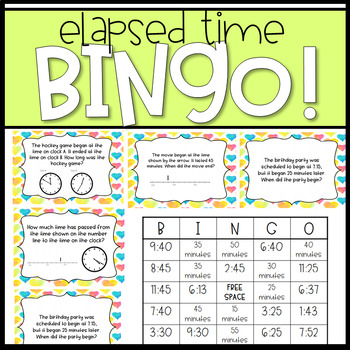 Elapsed Time Bingo!
