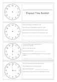 Elapsed Time Booklet (Beginning)
