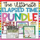 Elapsed Time Bundle   Google Classroom   Distance Learning