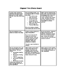 Elapsed Time Choice Board