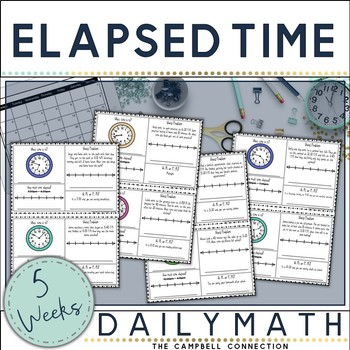 Elapsed Time Daily Math
